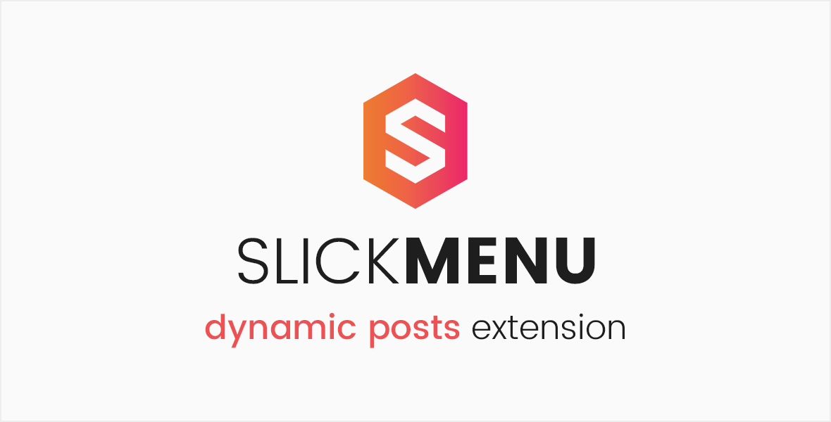 Slick Menu - Dynamic Posts Extension